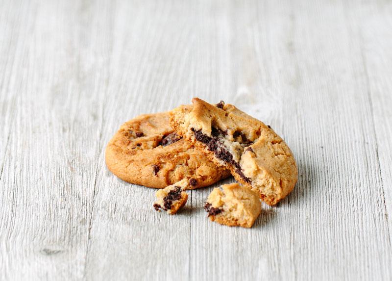 Homemade Chocolate Chip Cookie