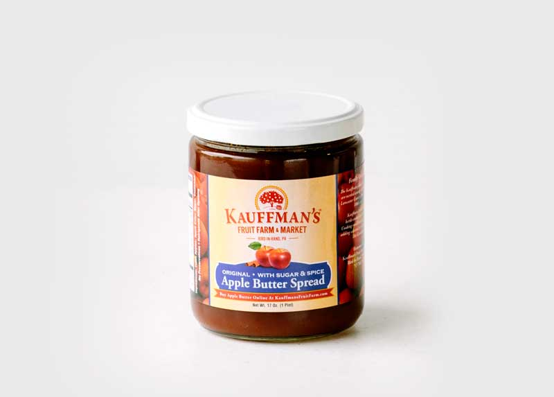 Kauffman's Fruit Farm Apple Butter Spread